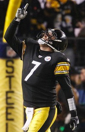Ben Roethlisberger and the Steelers beat the Baltimore Ravens again