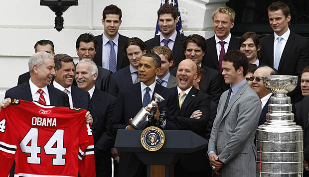 Chicago BlackHawks at the White House