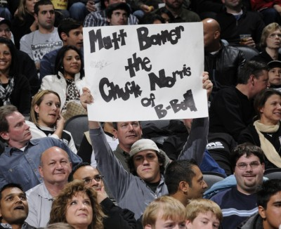 Matt Bonner: Chuck Norris