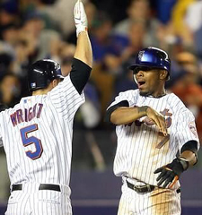 David Wright and Jose Reyes during happier times