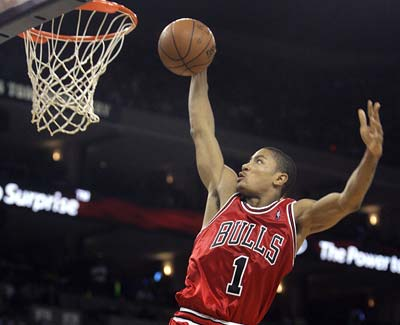 Derrick Rose leads the Chicago Bulls into the NBA Playoffs