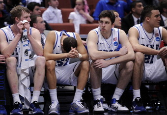The Duke University Blue Devils get the In Your Face treatment