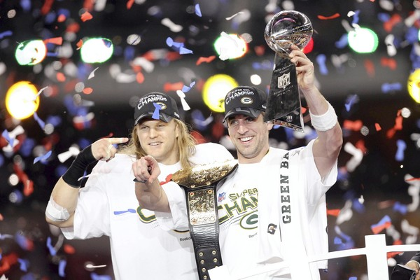 Green Bay Packers win Super Bowl XLV