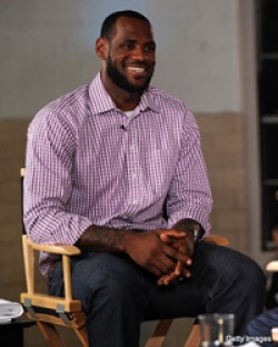 LeBron James chooses the Miami Heat