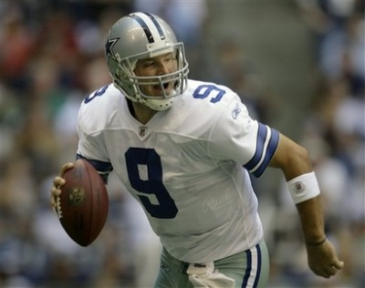 Tony Romo leads the Dallas Cowboys