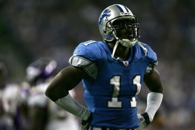 Roy Williams of the Detroit Lions