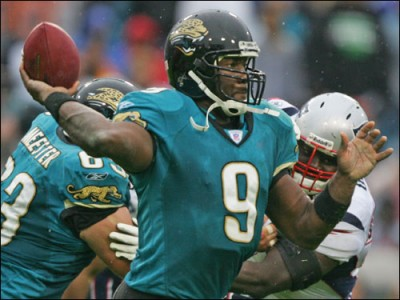 David Garrard of the Jacksonville Jaguars