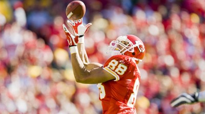 Tony Gonzalez of the Kansas City Chiefs