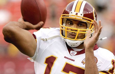 Jason Campbell of the Washington Redskins