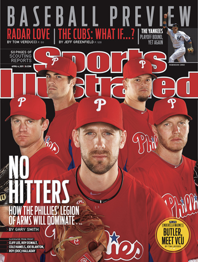 Phillies Sports Illustrated Cover