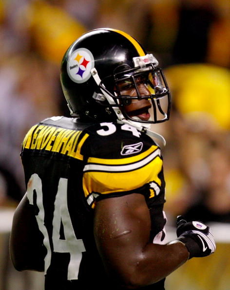 Rashard Mendenhall leads the Pittsburgh Steelers to the Super Bowl