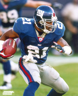 Former New York Giants player Tiki Barber coming out of retirement