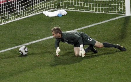 World Cup US versus England Robert Green