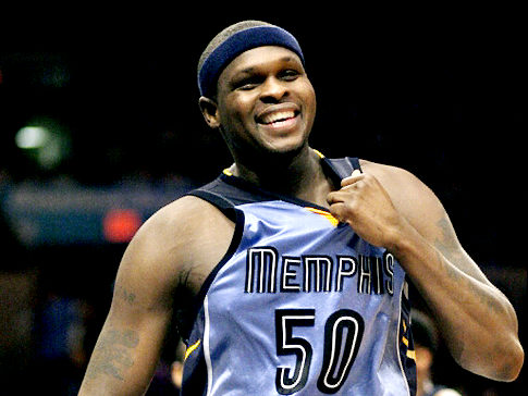 Zach Randolph and the Memphis Grizzlies shock the top-seeded San Antonio Spurs in the NBA Playoffs