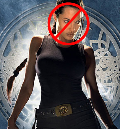 Angelina Jolie, Tomb Raider no longer