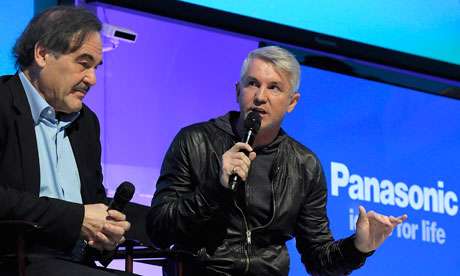 Oliver Stone and Baz Luhrmann at CES 2011