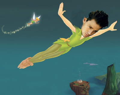 Channing Tatum as Peter Pan