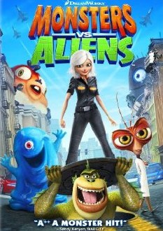Monsters vs. Aliens DVD