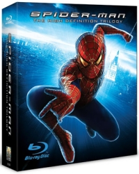 Spiderman Blu-ray Trilogy
