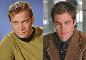 Star Trek - William Shatner, Chris Pine