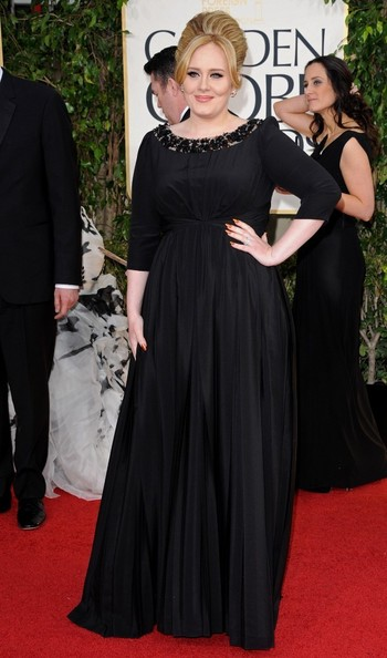 Adele at this year's Golden Globes