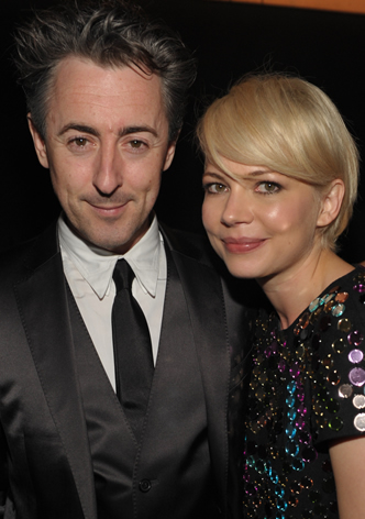 Alan Cumming and Michelle Williams