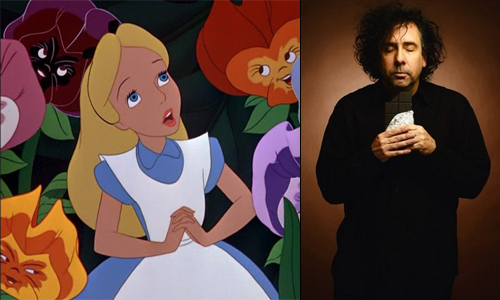 Tim Burton starts filming 'Alice' in Plymouth this month