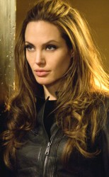 Angelina donates Wanted jacket to charity