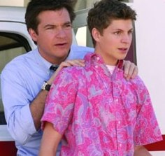Michael Cera and Jason Bateman in Arrested Development