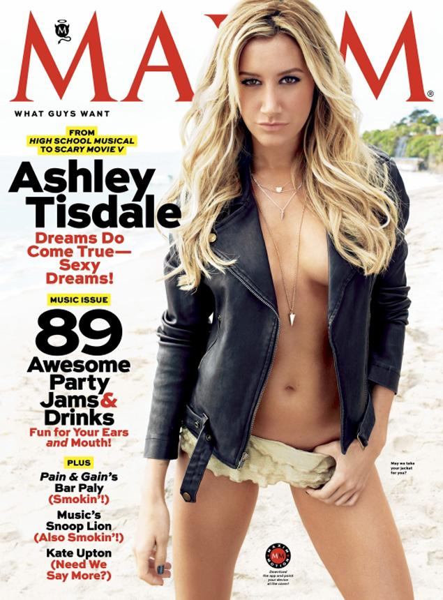 Ashley Tisdale on 'Maxim'