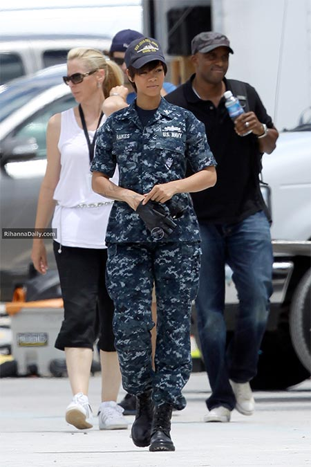 Rihanna in 'Battleship.'
