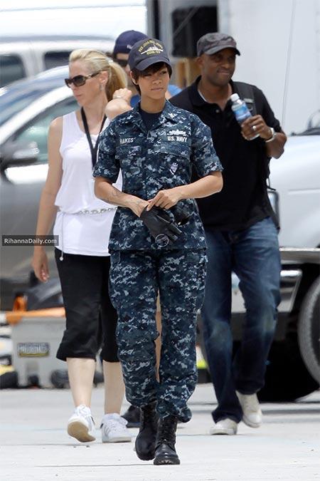 Rihanna in 'Battleship.'