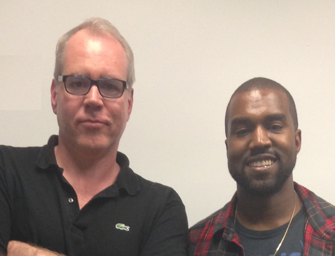 Bret Easton Ellis and Kanye West