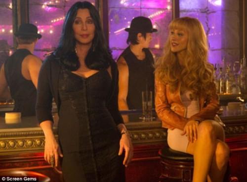 christina aguilera burlesque pics. Christina Aguilera Burlesque