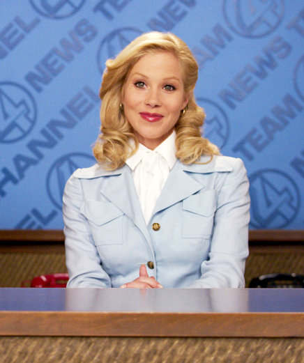 Christina Applegate as Veronica Corningstone