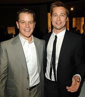 Matt Damon and Brad Pitt