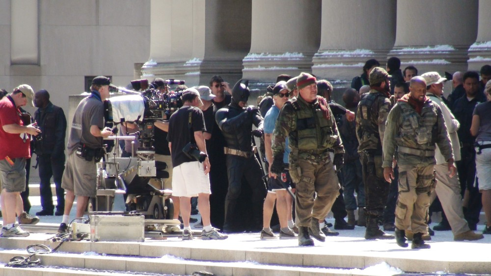 Filming The Dark Knight Rises