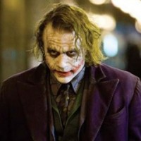 Heath Ledger in Th Dark Knight
