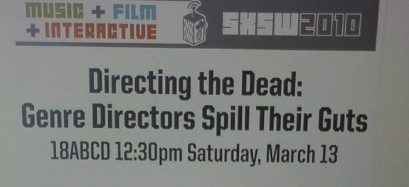 Directing the Dead SXSW