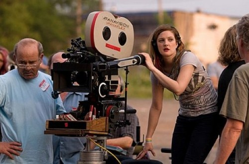 Drew Barrymore directing Whip It