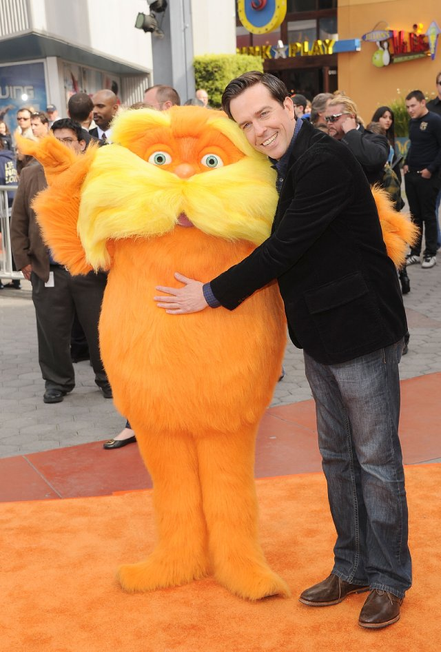 The Lorax and Ed Helms