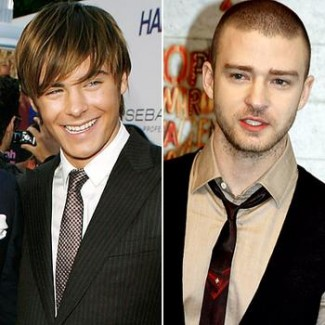 Zac Efron and Justin Timberlake