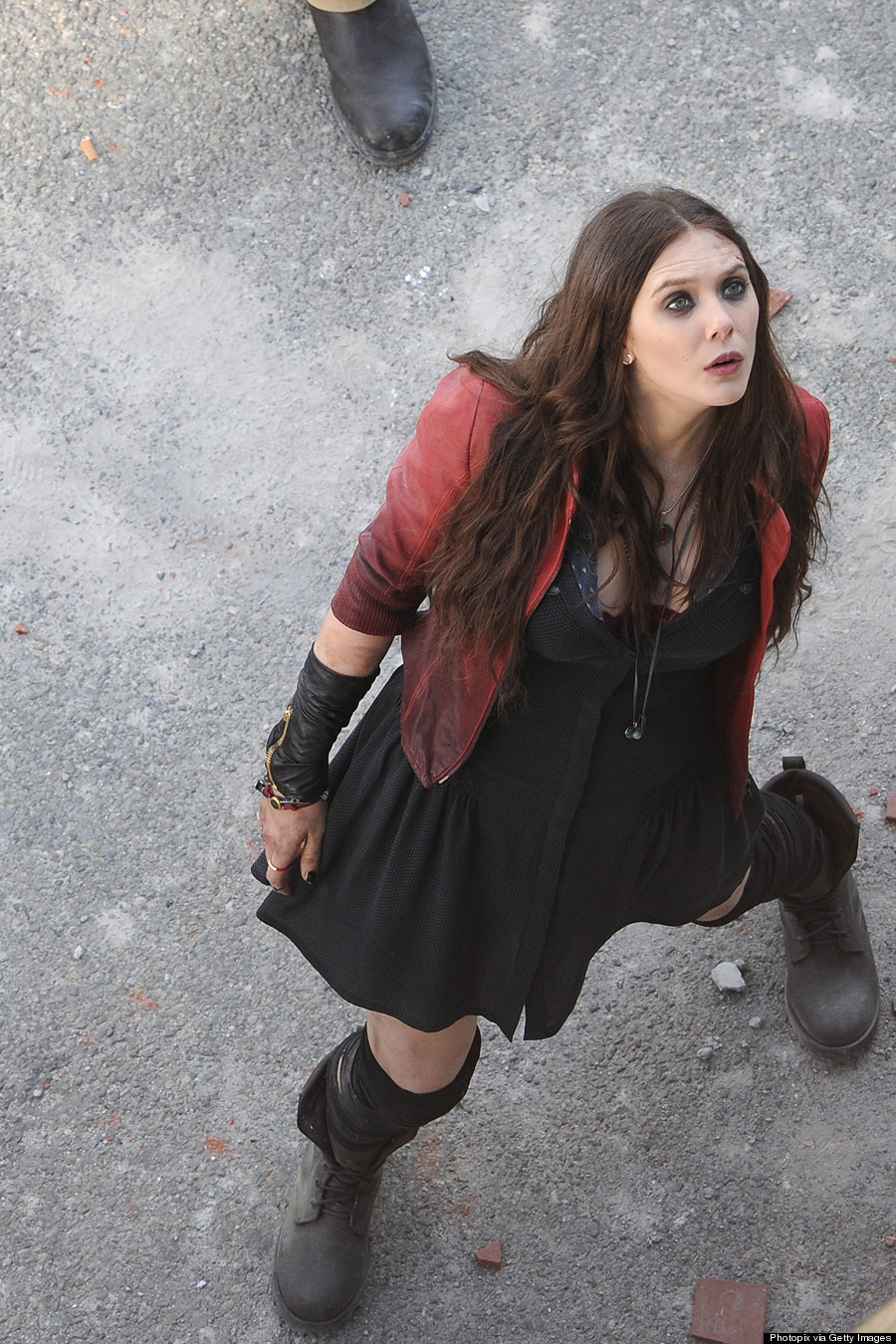 Elizabeth Olsen in 'Avengers: Age of Ultron'