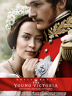 Emily Blunt as a teenage Queen Victoria