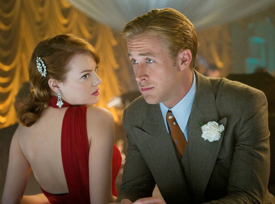Emma Stone and Ryan Gosling in 'Gangster Squad'