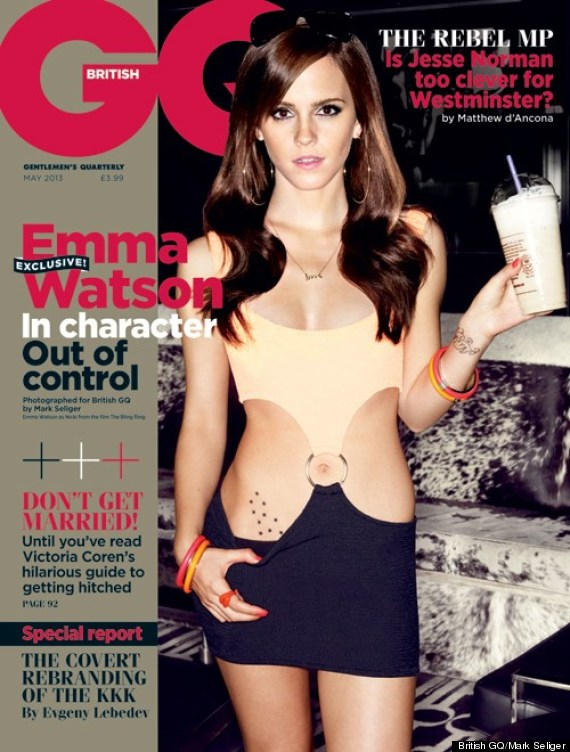 Emma Watson on 'GQ'