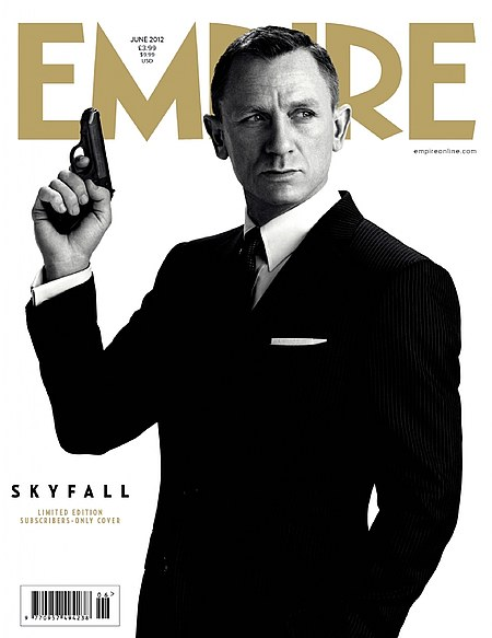 Daniel Craig on Empire as James Bond