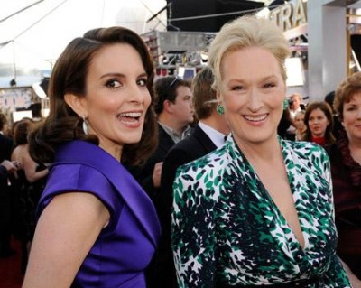Tina Fey and Meryl Streep