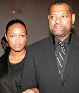 Laurence Fishburne and Montana