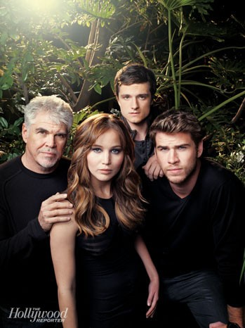 Gary Ross and The Hunger Games cast